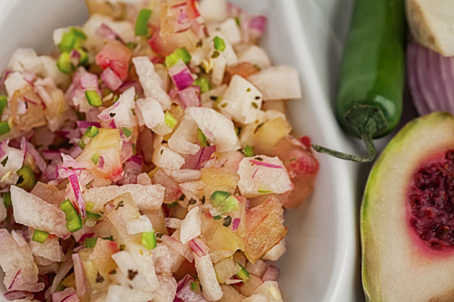 Pico de Gallo con Xoconostle